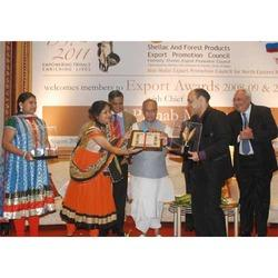 Export Award by Indian President