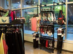 Window Mounted Clothing Rack