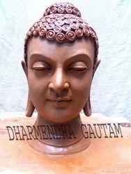 Fiber Buddha Head