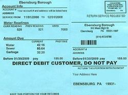 Electricity Bill Payment and Water Bills Payment Service