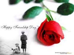 Friendship Day Red Rose
