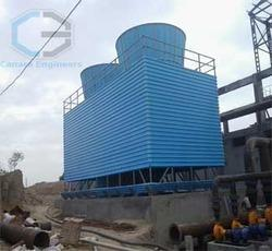 FRP Round Bottle Cooling Towers