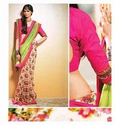 Fancy Designer Chanderi Silk Sarees