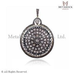 Diamond Round Shape Pendant