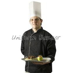 Black Chef Coat CC-18