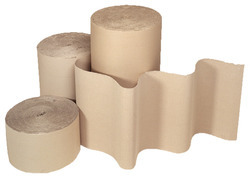 Brown Kraft Paper 2 Ply Corrugated Packaging Roll, GSM: 80 - 120 GSM