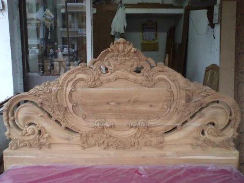 Wooden Designer Bed Wooden Sofa Wardrobes And Furniture Kalkatta