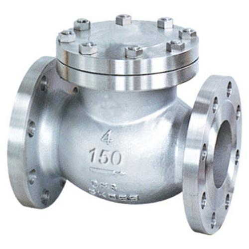 Cast steel stainless swing check valve at rs