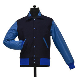Retro Collar Varsity Jacket