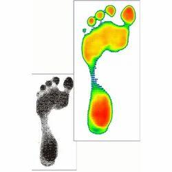 Color Plantar Pressure Scan - Podiascan