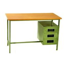 Simple Office Table Shailesh Steel Wooden Furniture Center
