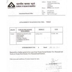 BIS Certificate 2