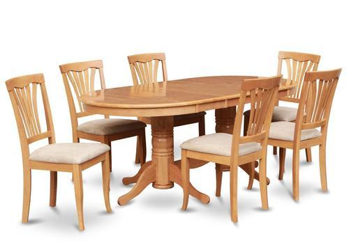 Oval Wood Dining Table - View Specifications & Details of ...