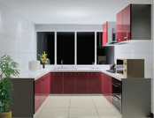 Laquered Kitchen