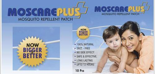 Moscare Plus Mosquito Repellent Patch