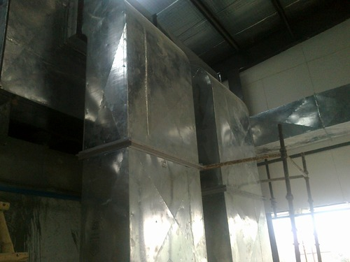 Sheet Metal Air Duct - Ventilation Ducts Manufacturer from Noida