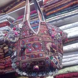 Embroidery Mirror Work Bags