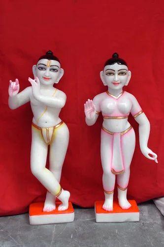 Isckon Radha Krishna Statue