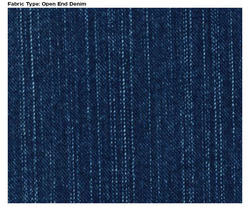 Open End Denim Fabric