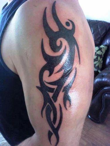 Designer Body Tattoo Bindi Body Beautification Products
