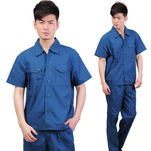 Cotton Company Worker Uniform, Rs 500 /piece(s) Goodluck Garments | ID:  4713940355