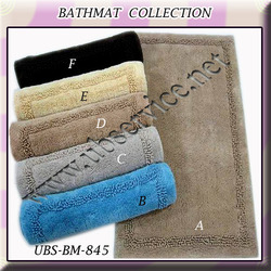 Border Design Bathmat