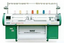 Knitting Machines - Double System With Take Down Comb