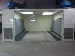 Spray Paint Booths Auto Powder Coating Booth