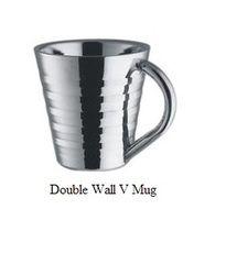 Double Wall V Mug