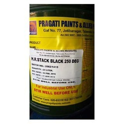 Heat Resistant Stack Black 250 Deg Paint
