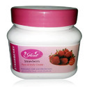 Glint Strawberry Face & Body Cream, For Personal, Packaging Type: Cream Jar