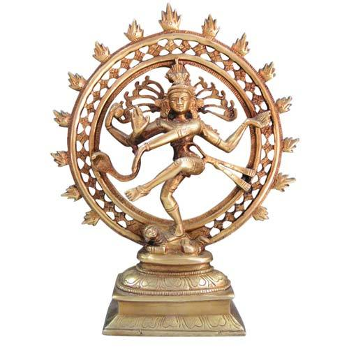 Clay Nataraja Statue Moon Export House Manufacturer In