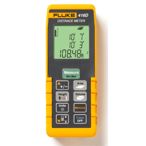 Digital Laser distance Meters - Fluke 424D Digital Laser