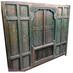 Wooden Old Partition