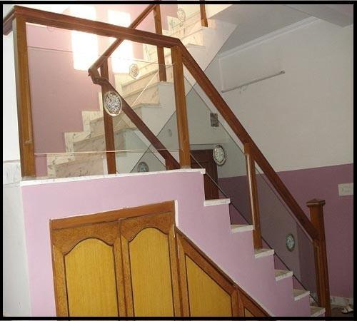 Blue Wood Railing Shop Delhi Manufacturer Of Wooden