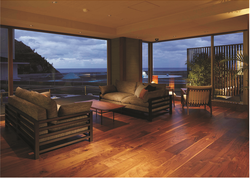 Brown And Wood Laminated Flooring