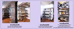 High Speed Flexo 6 Colors Printing Machine HM, HDPE, LD