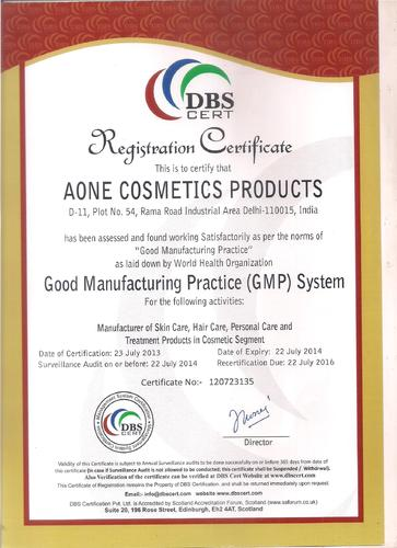 A One Cosmetics Products - Manufacturer from Najafgarh Road