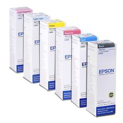 Epson Printer Ink for L800 / L1800 Set Of 6 Colors