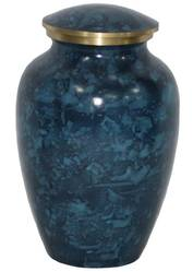 Powder Coated Polished Brass Urn