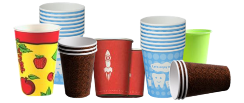 Cafe Coffee Day Paper Cups