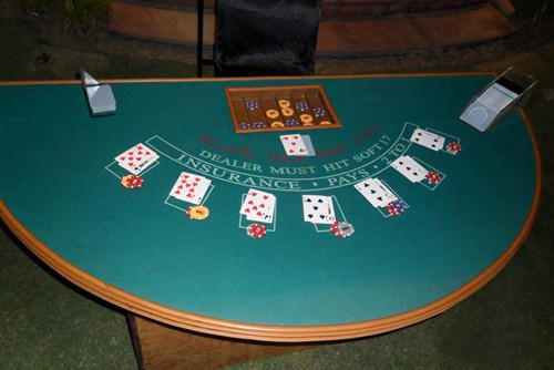 Casino Table Setup Services - Casino Black Jack Table Services Service Provider from Mumbai