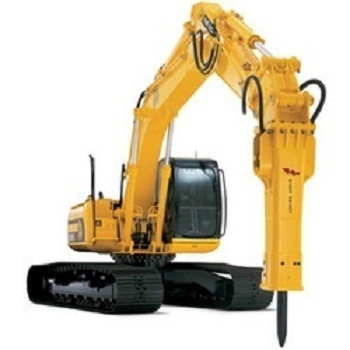 Drilling Equipments - Rock Breaker On Rent Service Provider