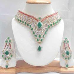 Acrylic Stone Necklace