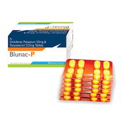 Diclofenac Potassium 50 mg, Paracetamol 325 mg