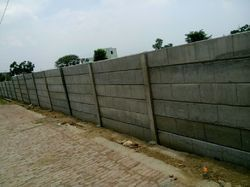 Precast Prestructured Boundary Wall