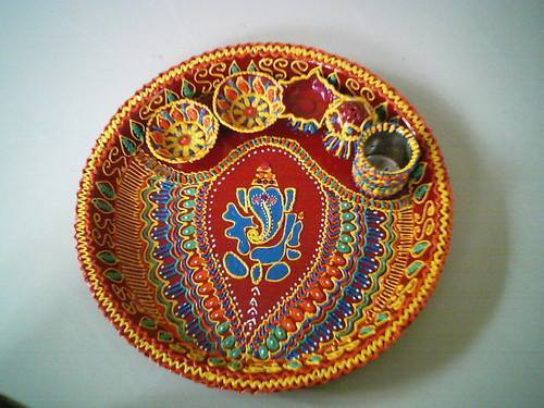 Aarathi plate decoration and bride saree decoration service provider product image read more aarathi plate decoration junglespirit Images