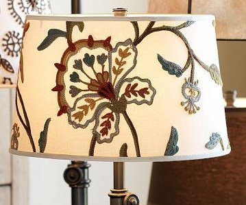 Embroidered lamp shades light shades christ embroidered lamp shades aloadofball Choice Image