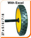 Solid Tyre with Axle