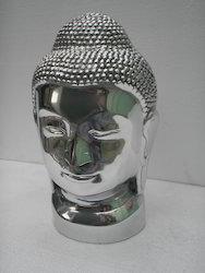 Metal Buddha Head